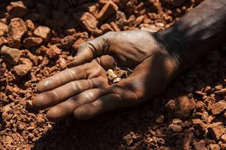 Jazida de ouro na Huíla, Angola