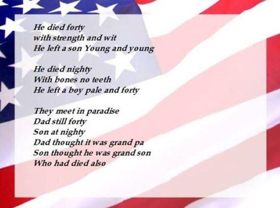 Memorial Day Poems 2