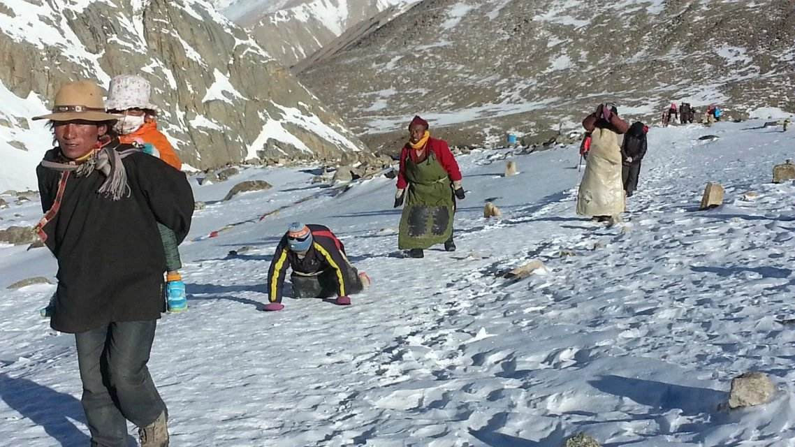 Trekking to Kailash