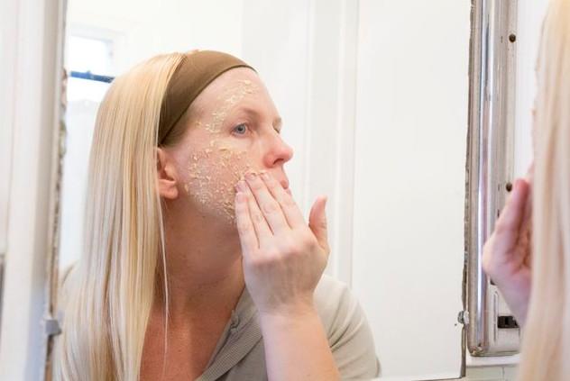 Cách dưỡng da từ chuối và bột yến mạch