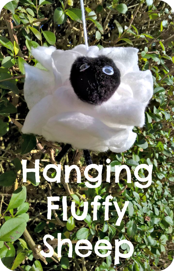 Chinese New Year Hanging Fluffy Sheep