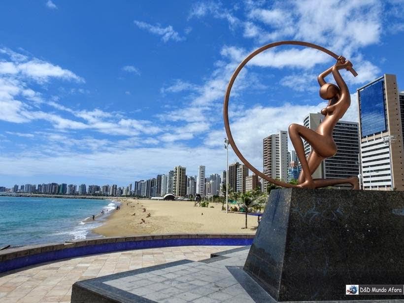 Arco de Iracema - Praia de Iracema - o que fazer em Fortaleza (Ceará) - 58 atrações