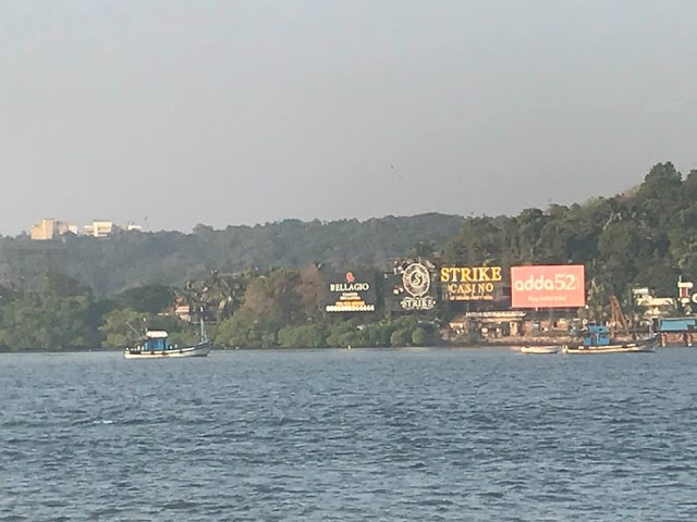 Mandovi River near the Viceroy's Arch Old Goa