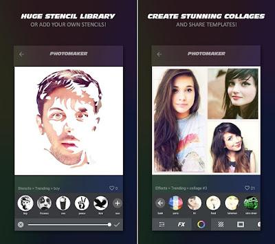 Tampilan Aplikasi PhotoMaker Pro