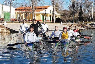 Deutscher Kanu-Verband e.V  Aranjuez Spanien