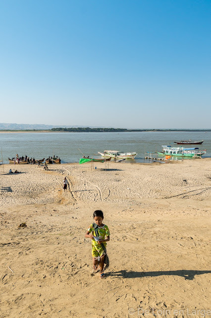 Irrawaddy - Bagan - Myanmar - Birmanie