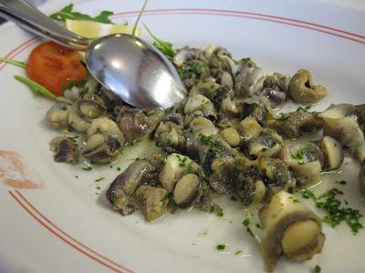 Burano, Trattoria da Romano, sea snails