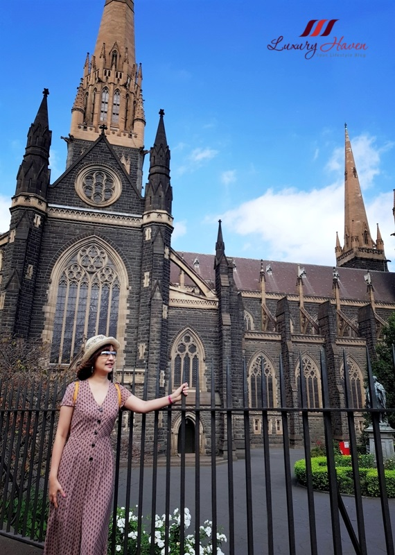 melbourne ig worthy spots st patrick cathedral