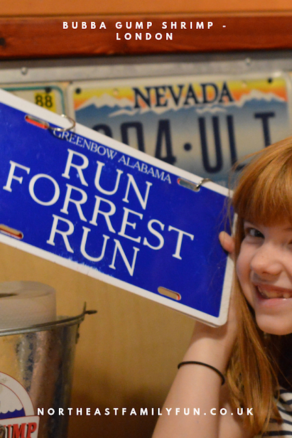 Dining with Kids in London   Bubba Gump Shrimp Leicester Square Review