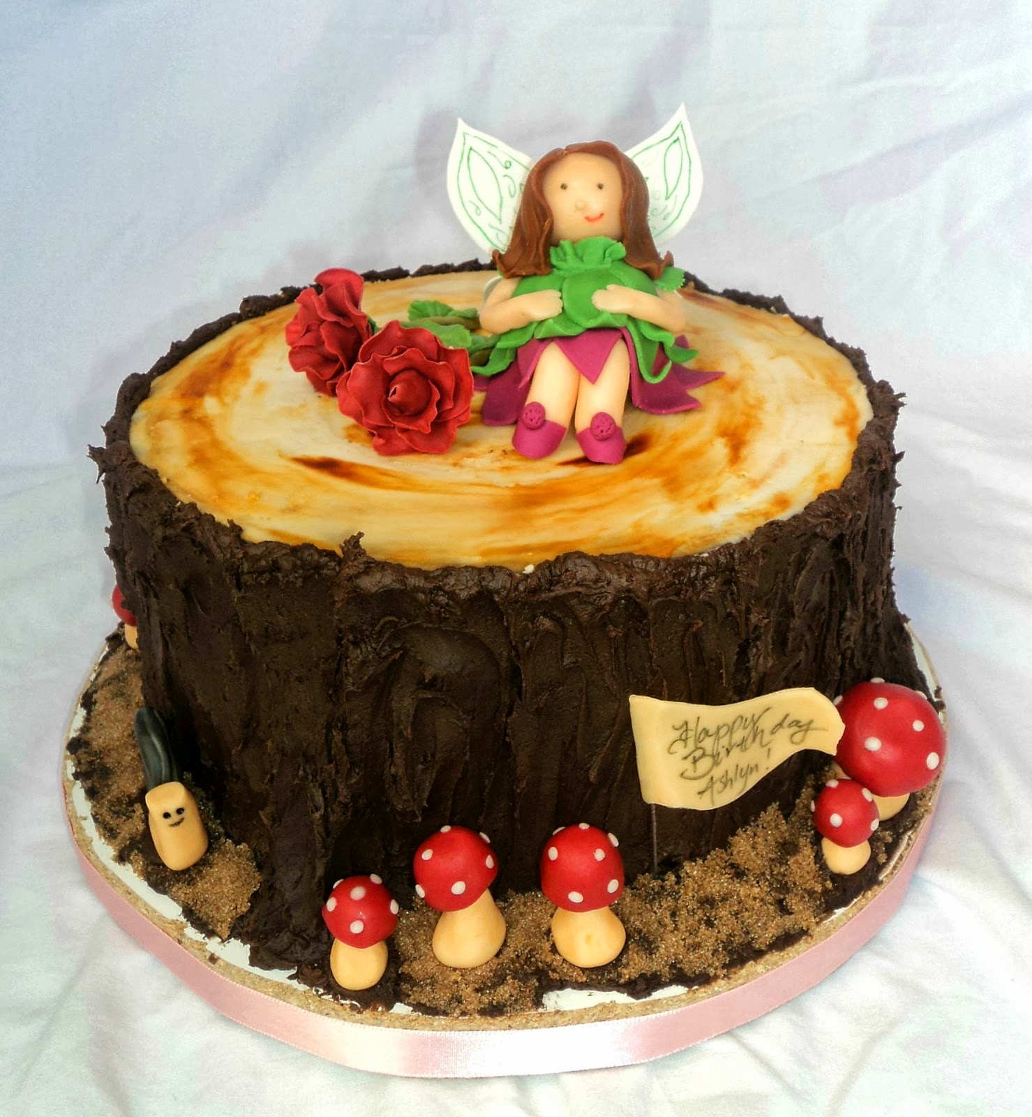 Delectable Cakes: Woodland Fairy Birthday Cake