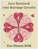 Love Entwined 1790 Coverlet
