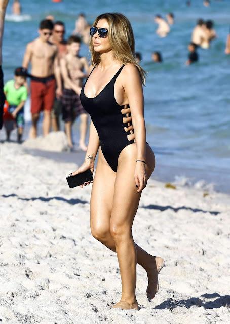 Larsa Pippen panties
