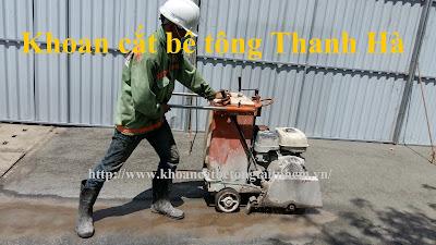 Khoan cắt bê tông tại huyện Mang Thít