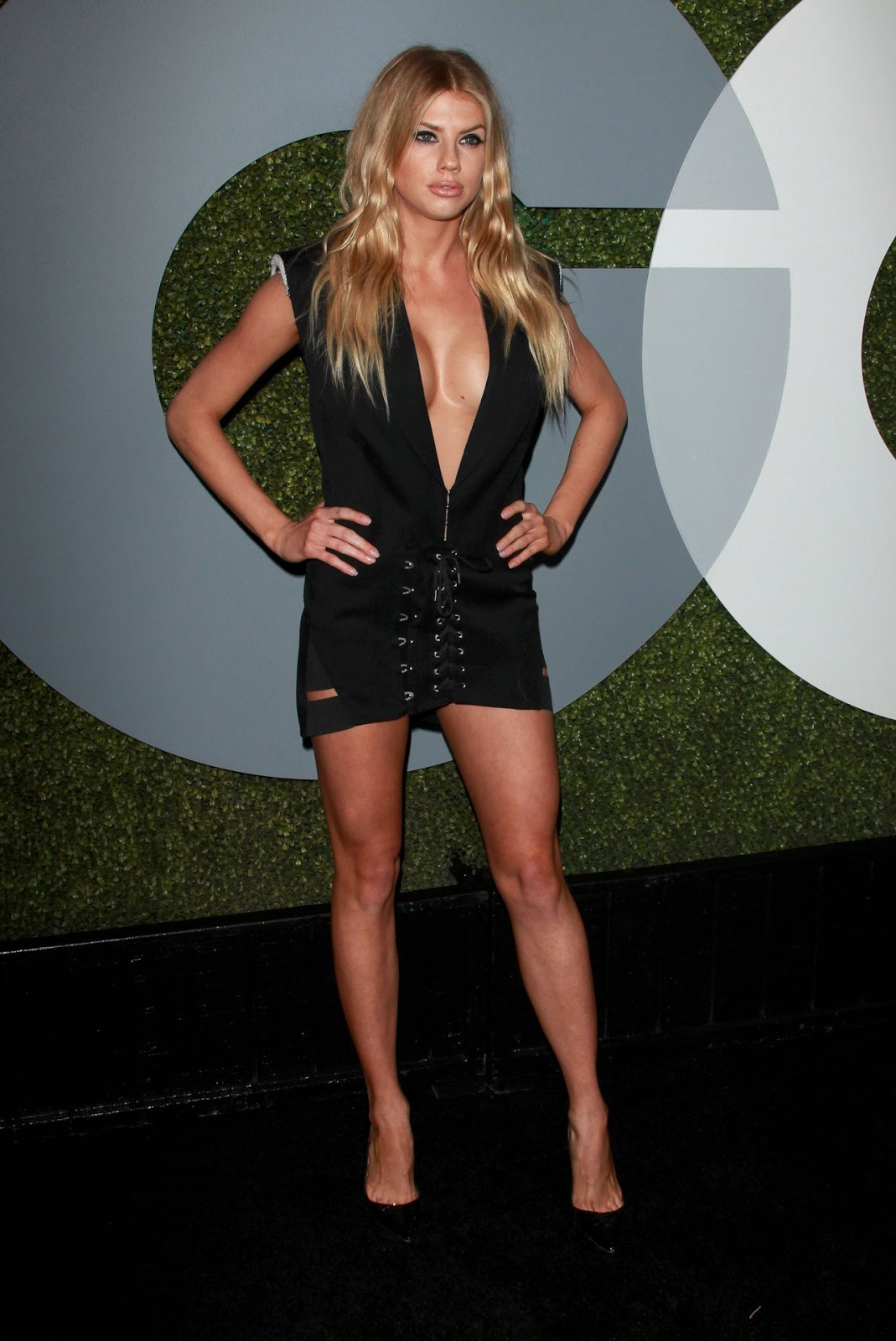 Charlotte McKinney @Char_mck at GQ Men of the Year Party