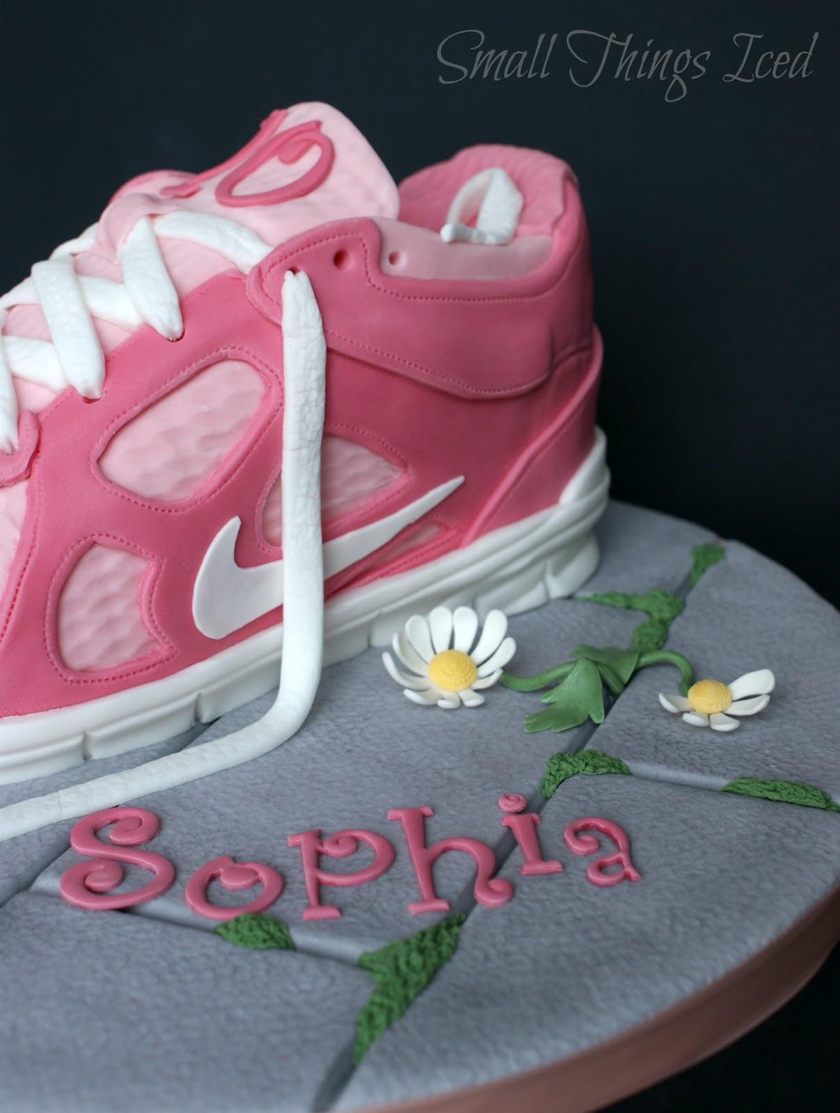 Trainer Shoe Birthday Cake