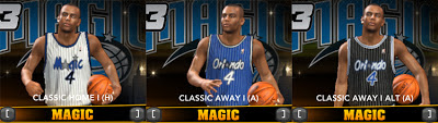 NBA 2K13 Orlando Magic Classic Jersey Mod Patch