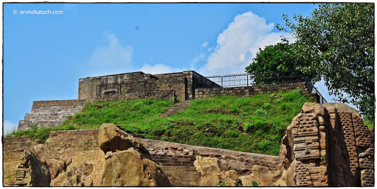Masroor, Rock Cut Temples, Kangra,