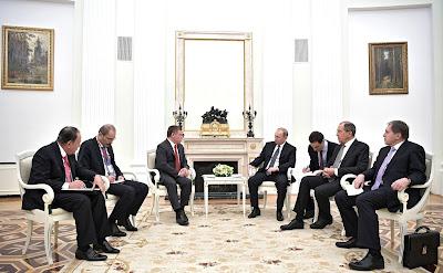 Vladimir Putin, Abdullah II.