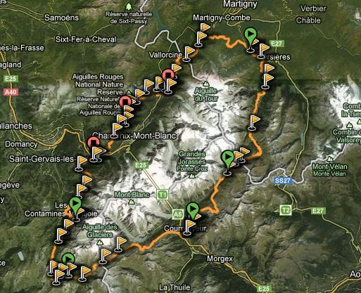 Ruta Completa Tour Mont Blanc (TMB) reseña
