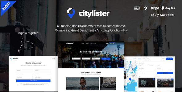 CityLister – Local Listings & Directory WordPress Theme - SEO
