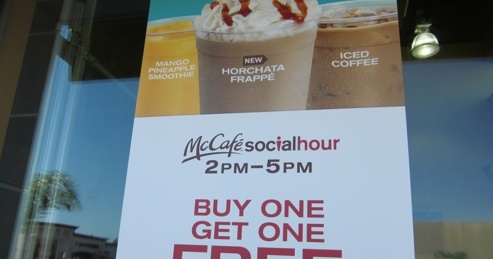 Complete the McDonald's Customer Satisfaction Survey the next time you visit McDonald's to get a B1G1 Free sandwich on your next visit. Restaurant Promotions. I just want my code for the frappe. Buy one – get one free. Reply. Rebecca Simpson says. April 24, at am.