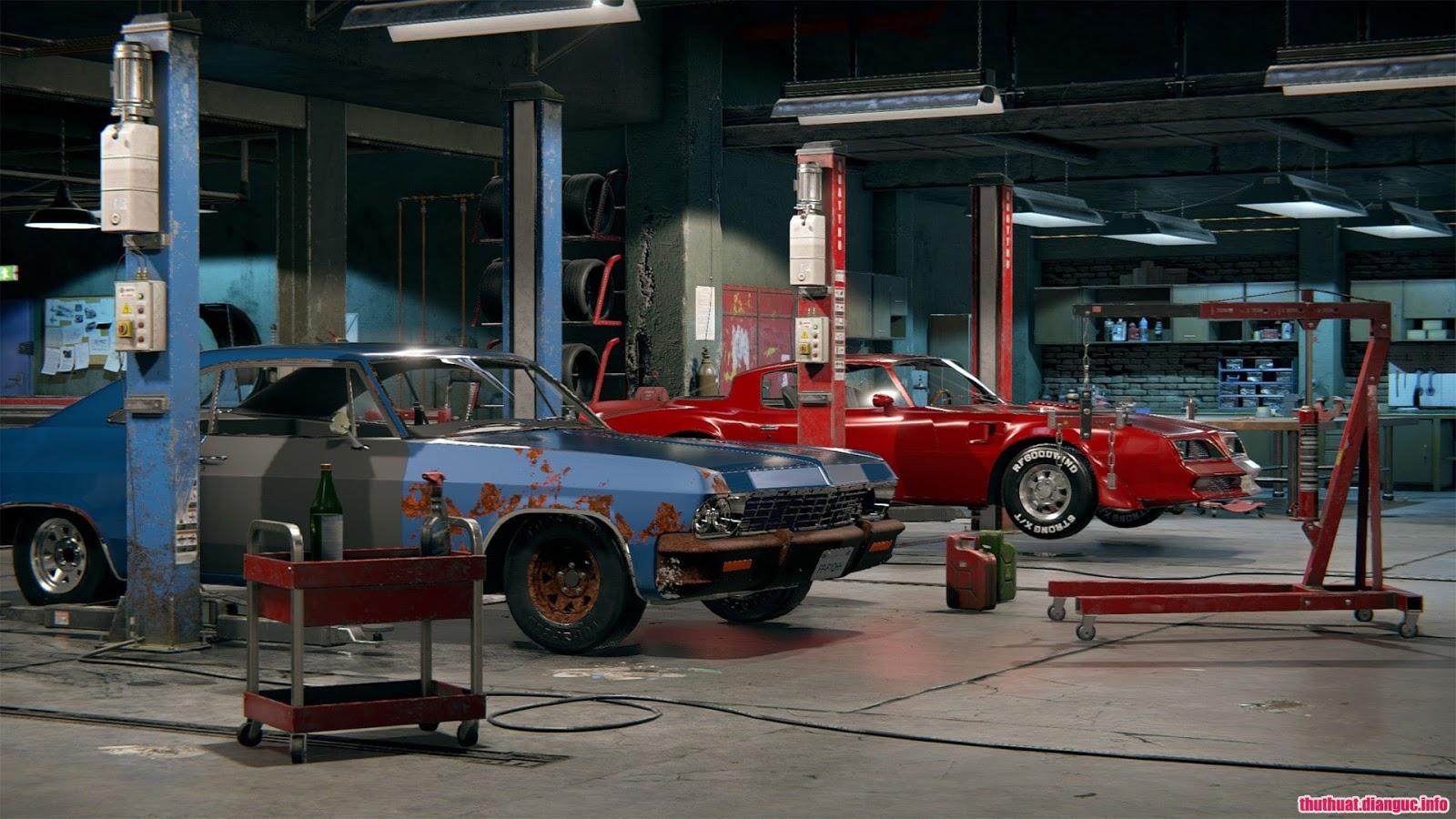 game mô phỏng sửa chữa ô tô