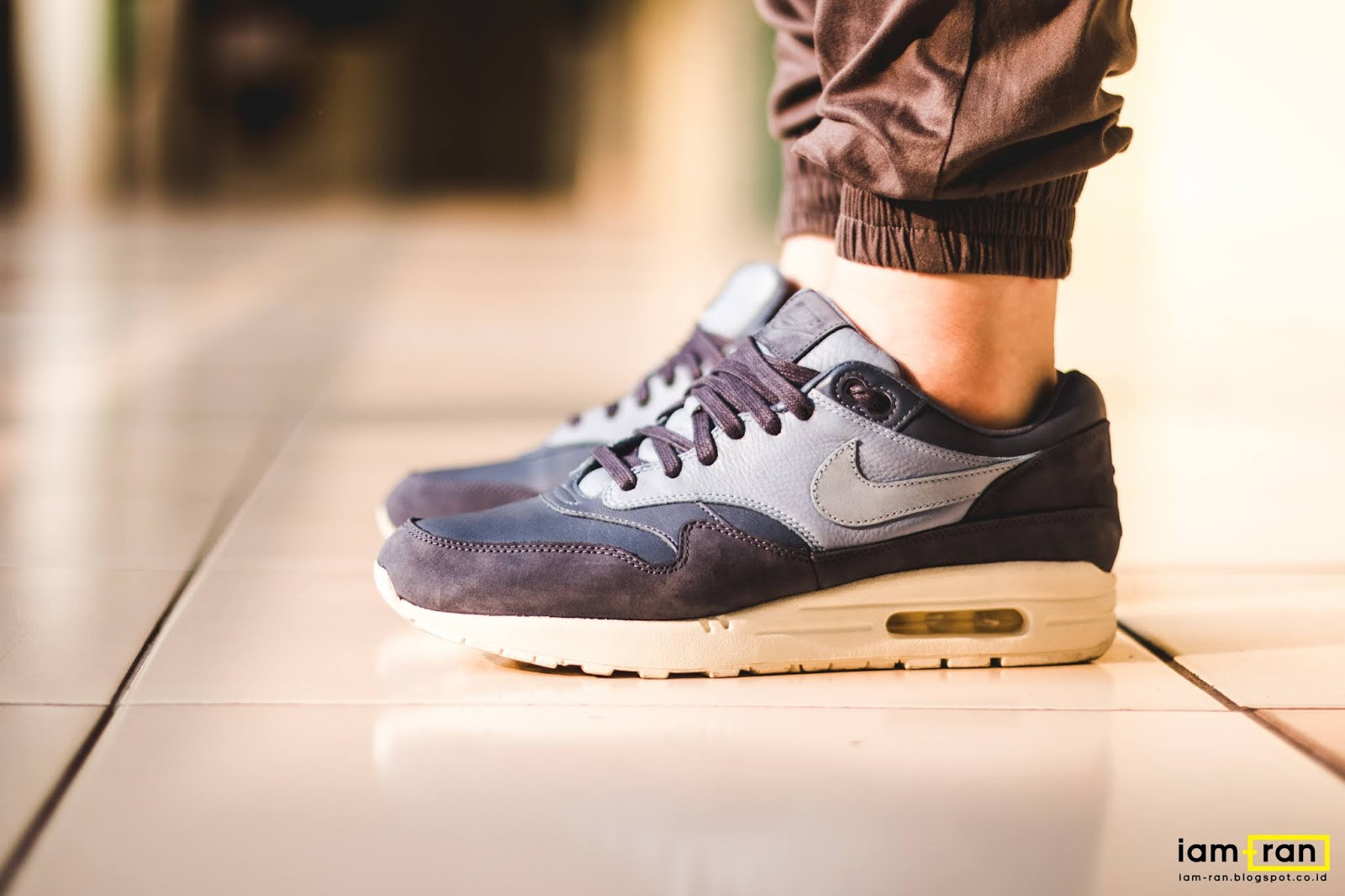 a0ad9ecbfd IAM-RAN: ON FEET : Viktor - Nike Air Max 1 Pinnacle (Ocean Fog)