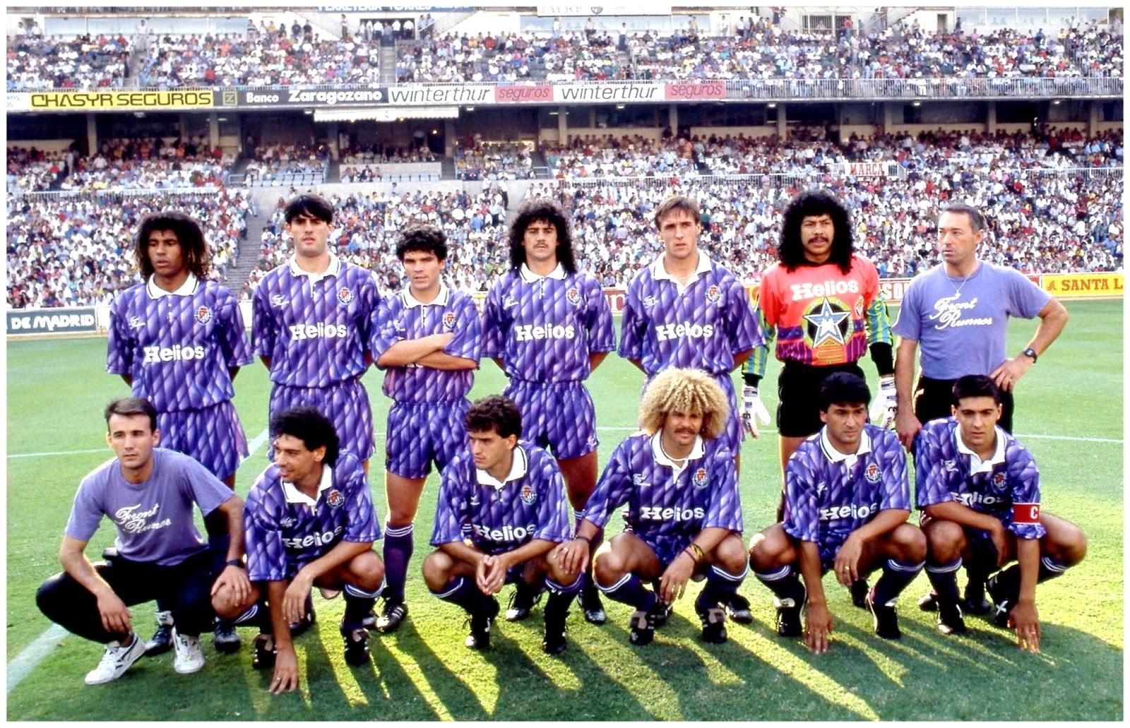 Equipos de f tbol real valladolid contra real madrid 08 09 1991 - Fotos del real valladolid ...
