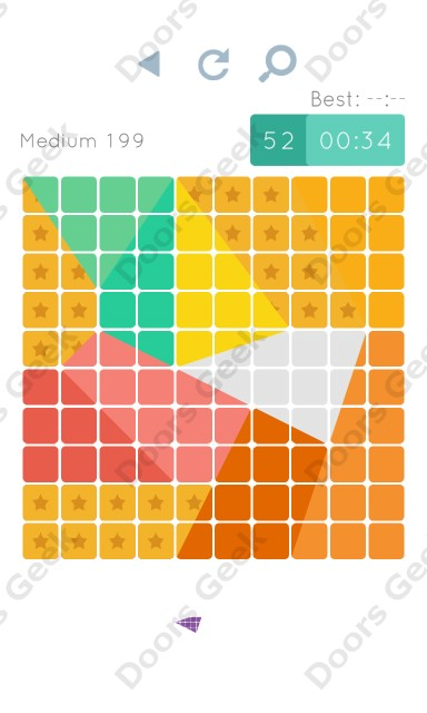 Cheats, Walkthrough for Blocks and Shapes Medium Level 199