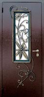 """Дверь с ковкой """"Дина"""""""