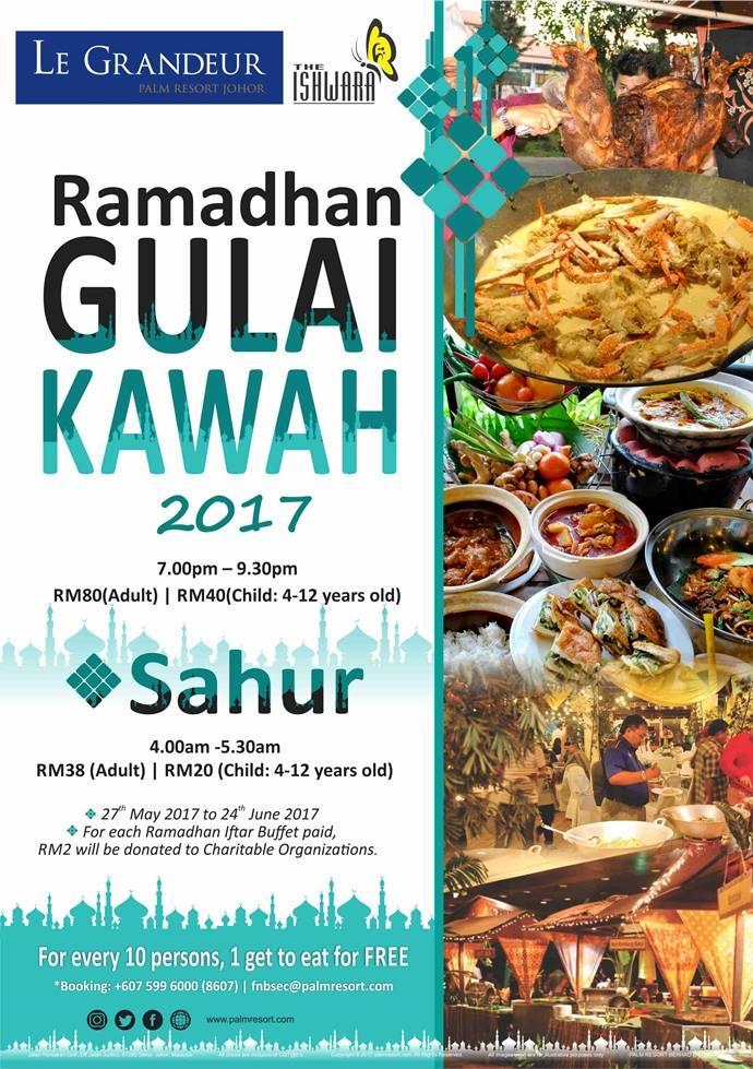 buffet ramadhan le grandeur senai