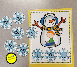 segmenting snowmen teachmagically
