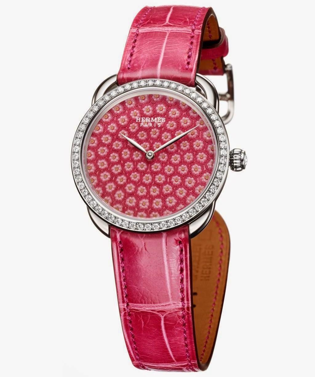 Hermès Arceau Millefiori 34 mm watch