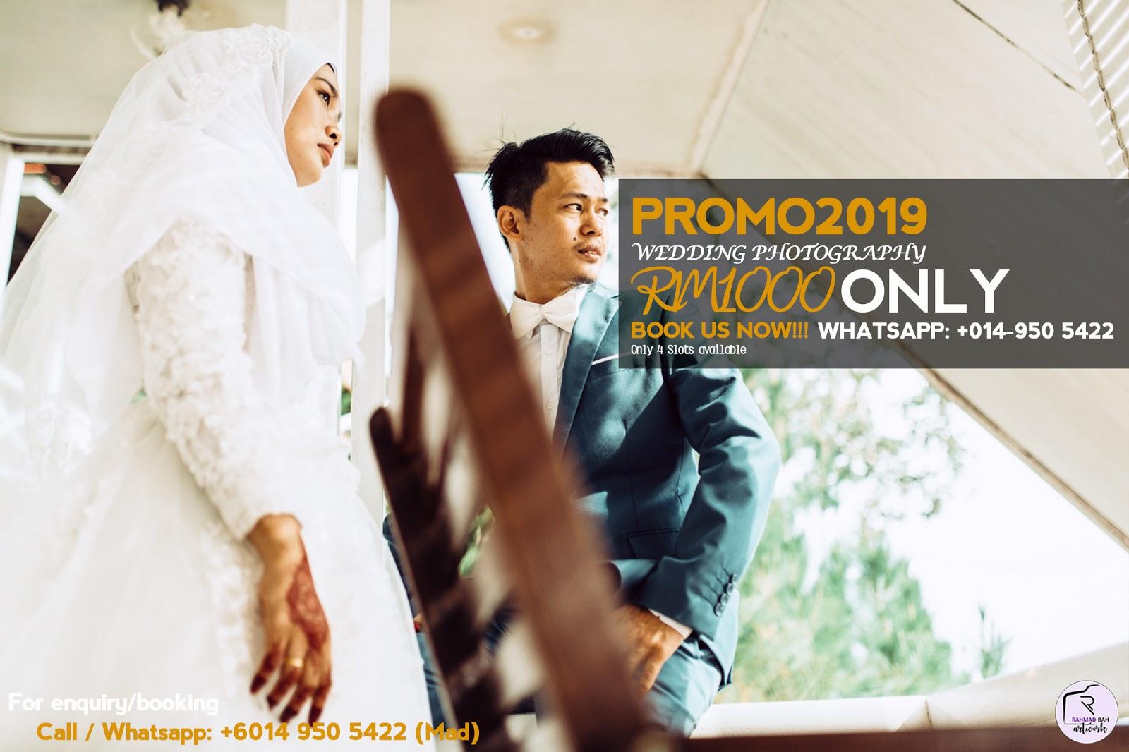 PROMO: Pakej Fotografi Perkahwinan Keningau, Sabah
