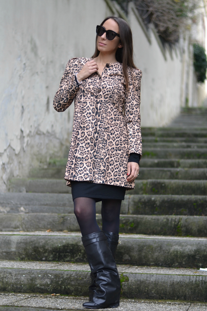 trench animalier