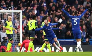 Chelsea vs Huddersfield 5-0 Video Gol & Highlights