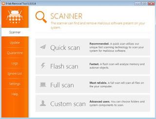تنزيل برنامج Malware Removal Tool لمسح ملفات التجسس من الكمبيوتر