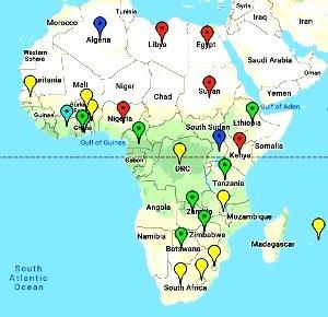 Benua Afrika : Letak Geografis,Penduduk, Budaya, Agama Afrika