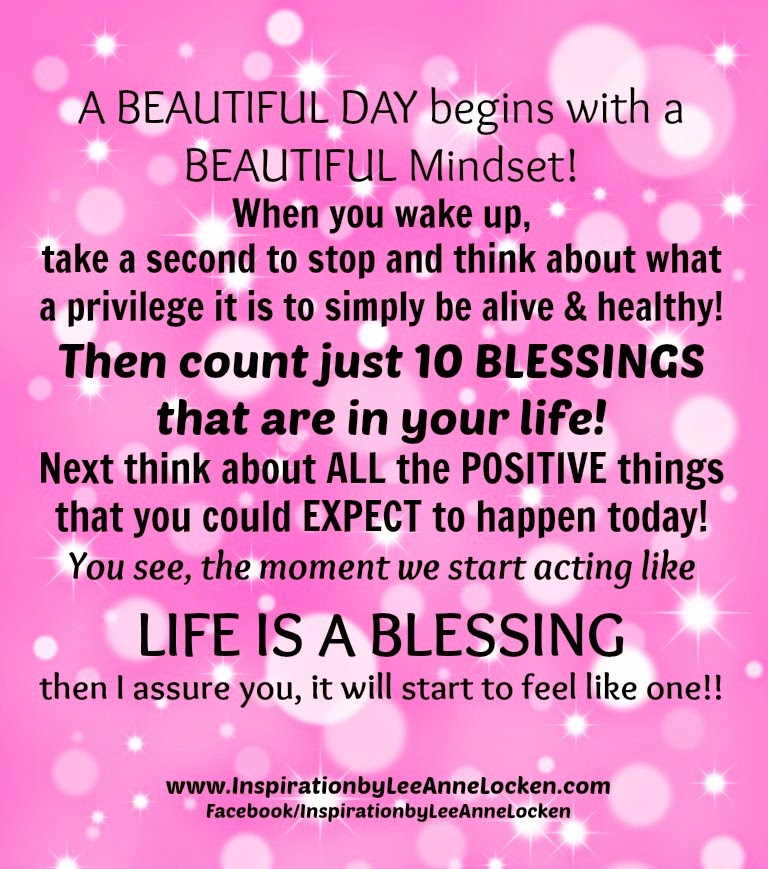a beautiful day begins with a beautiful mindset quote - photo #3