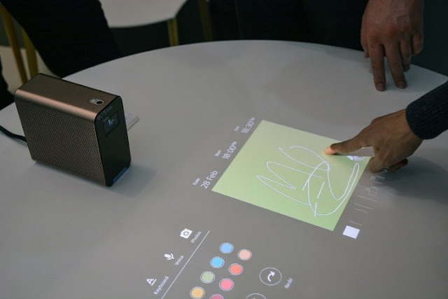 Sony Projector Convert Any Surface Into TouchScreen Display