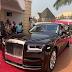 Photos: Prince Arthur Gifts himself a 2019 Brand New Rolls Royce phantom 8 worth $600k dollars