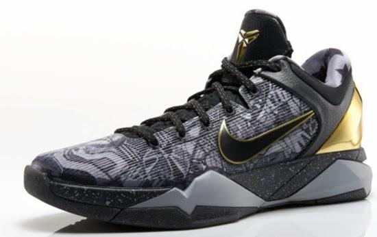 size 40 515b2 d80db Nike Zoom Kobe VII System Prelude Cool Grey Metallic Gold-Black Release  Reminder