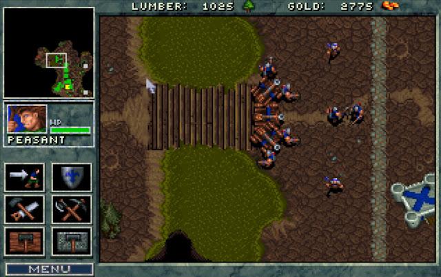 Warcraft 1 Entrenching Screenshot