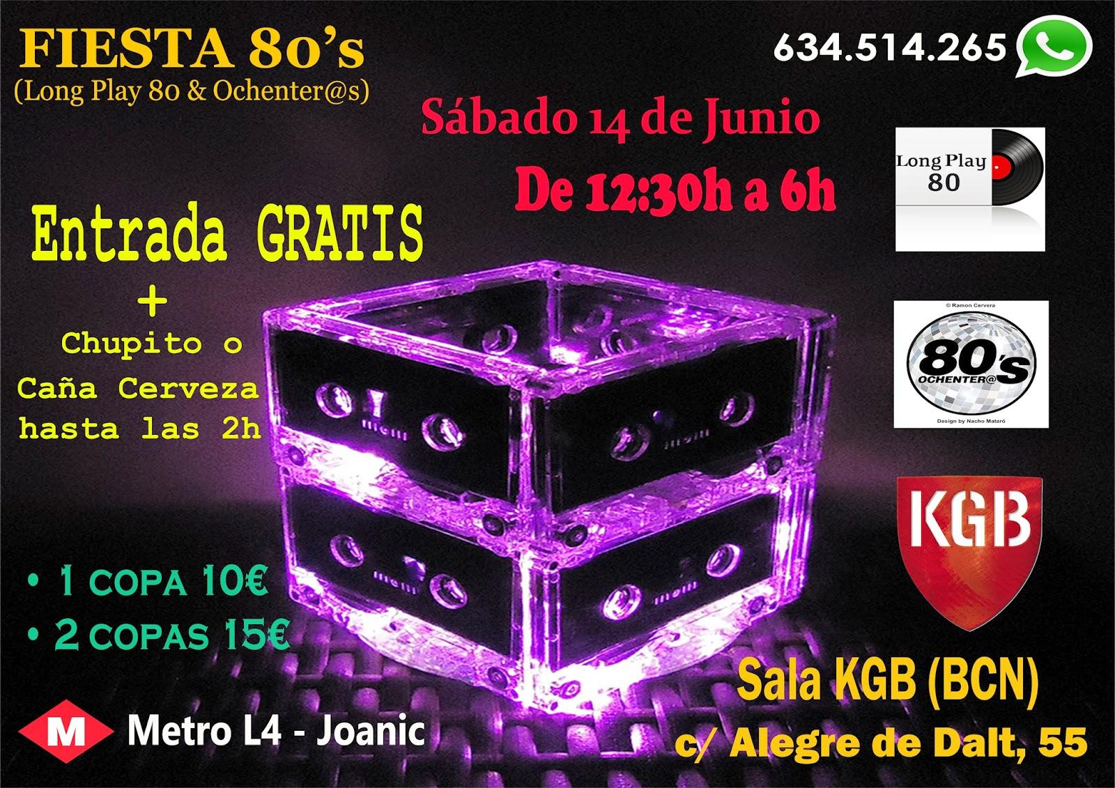 Flyer Fiesta 80's 14/06/2014