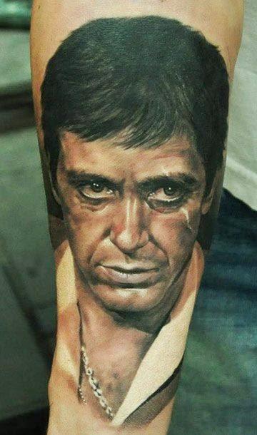 Tatuaje Scarface