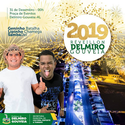 Venha celebrar a chegada de 2019 no melhor réveillon de Delmiro Gouveia