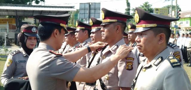 Delapan Perwira Pindah Jabatan