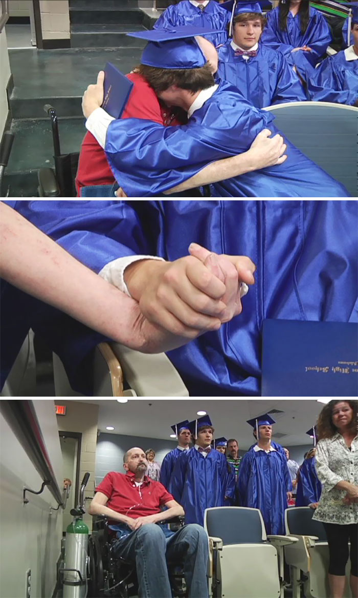 36 People's Heart-Breaking Last Wishes - Dying Father Gets His Final Wish: To See Son Graduate