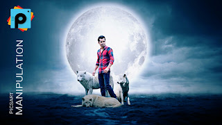 Picsart Manipulation With White Wolf Tutorial