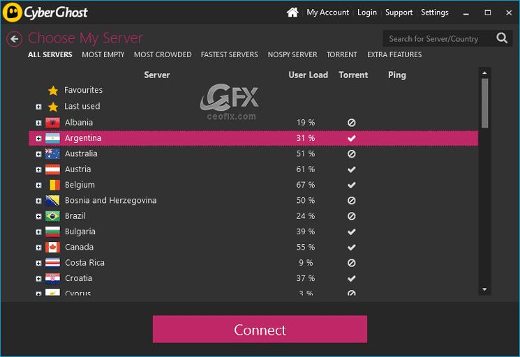 CyberGhost 6.0 VPN